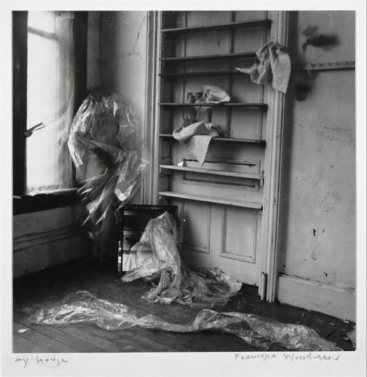 francesca woodman, 'my house, providence, rhode island', 1976, ingleby