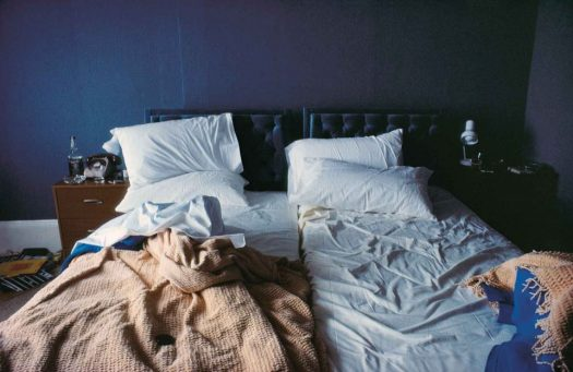 nan goldin (united states, born born 1953),empty beds, boston, silver-dye bleach print, 24 x 36 inches. private collection, houston, tx. © nan goldin, courtesy o